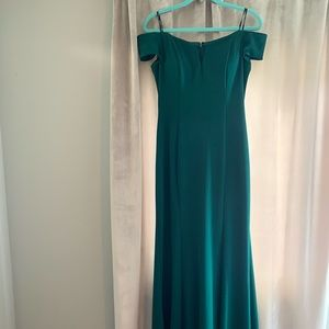Brand New Vince Camuto Forest Green Formal Dress